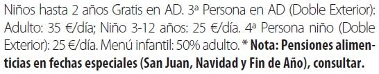 Balneario vichy catalan tarifas 2019