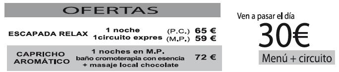 Balneario de verche tarifas 2019