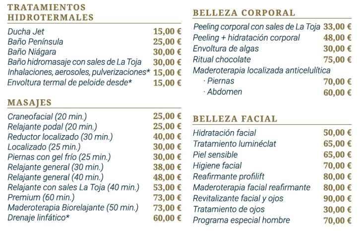 Hotel eurostars isla de la toja tarifas 2018