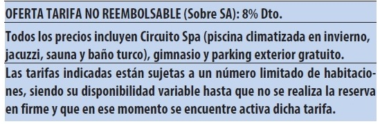 Hotel spa marbella hills tarifas 2019