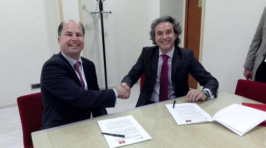 Firma de Acuerdo Spaincares y la Universidad de Nebrija