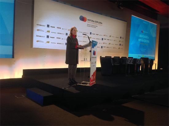 La ministra de Fomento, Ana Pastor Inaugura el  I Foro de Innovación Turística
