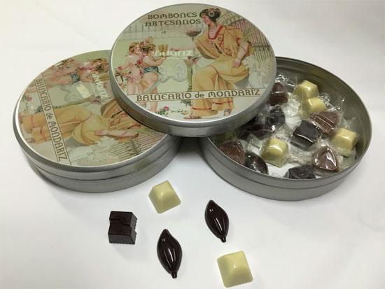 Balneario de Mondariz lanza una línea de bombones artesanales con sabor gallego