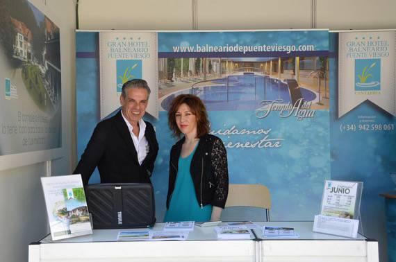 Gran Hotel Balneario de Puente Viesgo en Feria del Libro