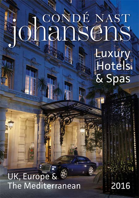 Condé  Nast Johansens Luxury Hotels & Spas UK, Europe & The Mediterranean 2016