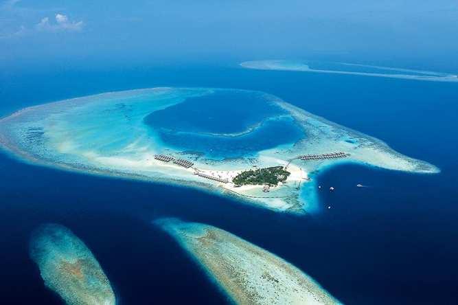 Constance Moofushi en Maldivas
