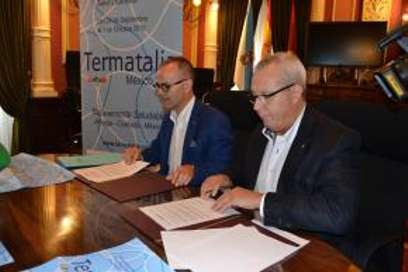 Firma del convenio Ayuntamiento de Ourense