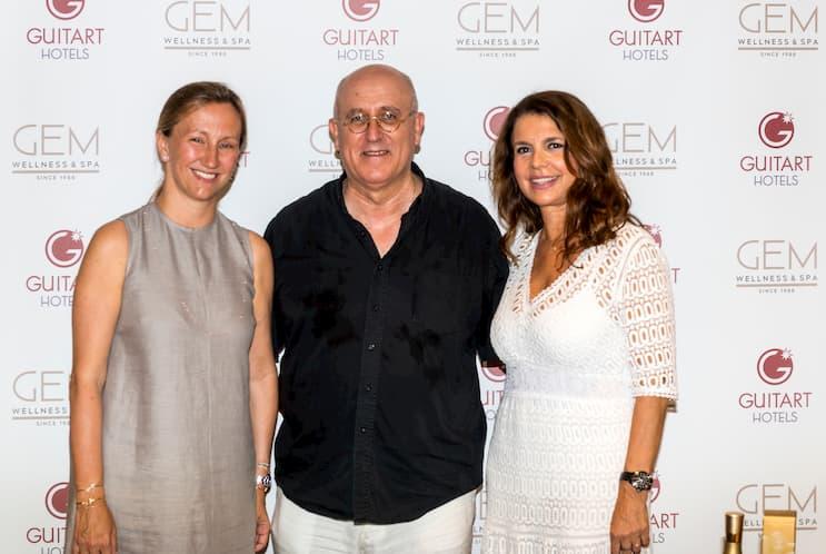 Cristina Cabañas (Guitart Hotels), Idili Lizcano (Alqvimia) y Dra. Folch
