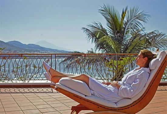 Relax en el Océano Health Spa de Tenerife