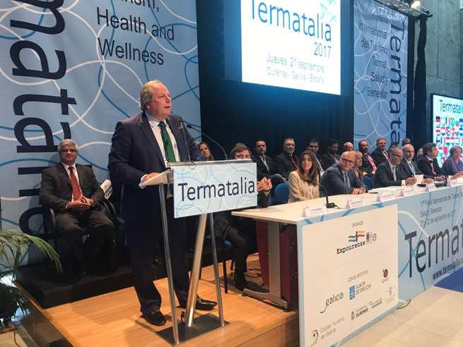 Inauguración de Termatalia Anbal
