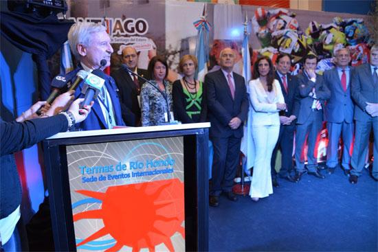 Inauguración Termatalia Argentina 2014
