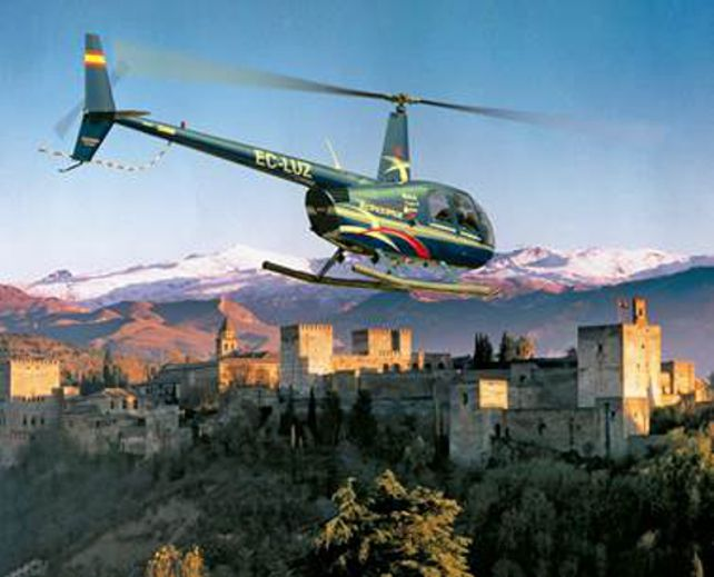 La Alhambra desde el cielo