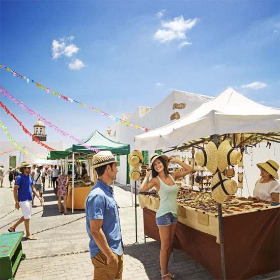 Mercadillo de Teguise, Lanzarote