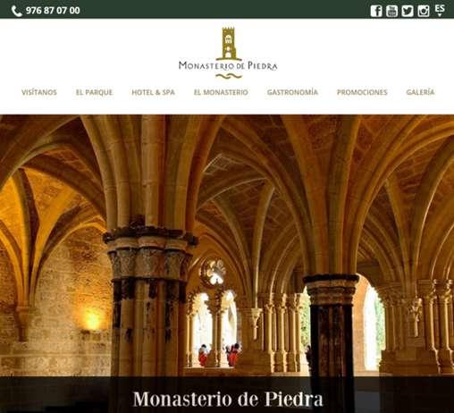 Web Monasterio de Piedra