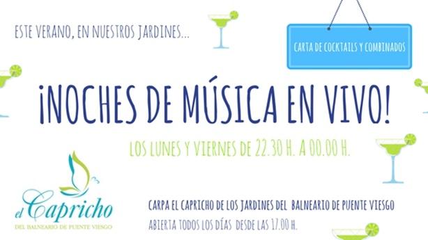 Música en Balneario de Puente Viesgo