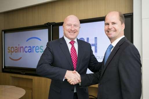 Firma del acuerdo de adhesión a la Plataforma Digital Spaincares