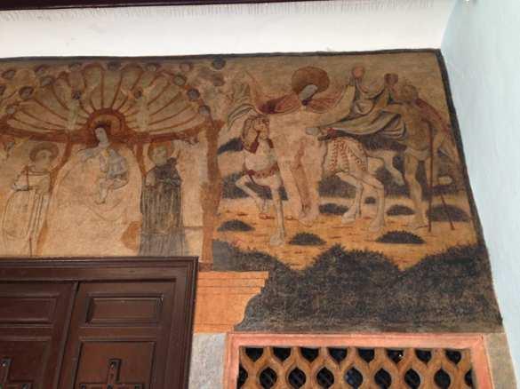 Pintura mural del siglo XVI