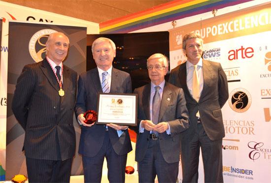 Entrega del Premio Excelencias Turísticas a Termatalia