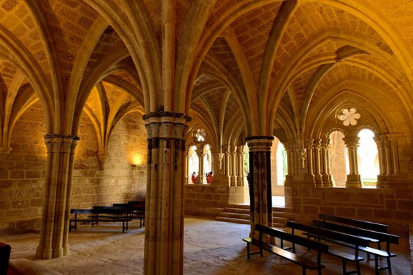 Sala Capitular Monasterio de Piedra