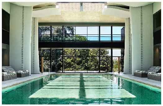 Spa Indoor pool, Six Senses Douro Valley