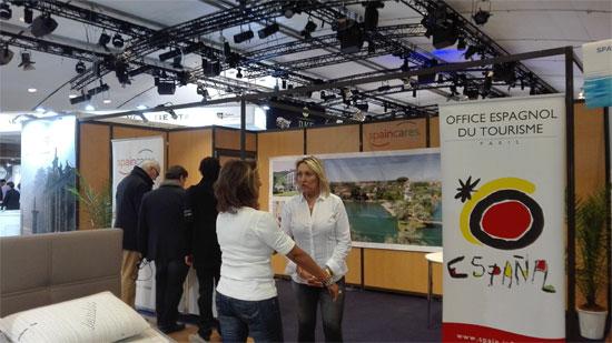 Spaincares, la Marca España en Turismo de salud, ha presentado su oferta de Balnearios en el salón internacional de Les Thermalies en Paris.