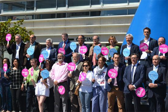 La celebración contó con la presencia del Embajador del Global Wellness Day en España, César Tejedor