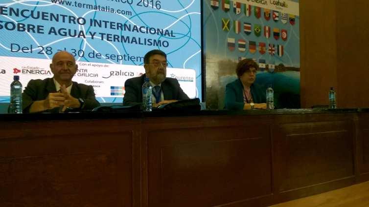 Sesión de Hidrología Médica de Termatalia