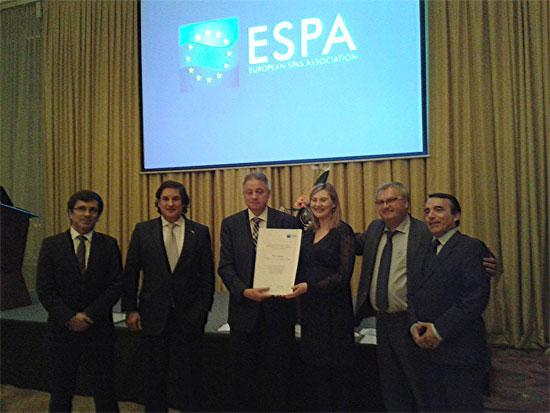 La European Spas Association (ESPA) ha reconocido la trayectoria de Termatalia