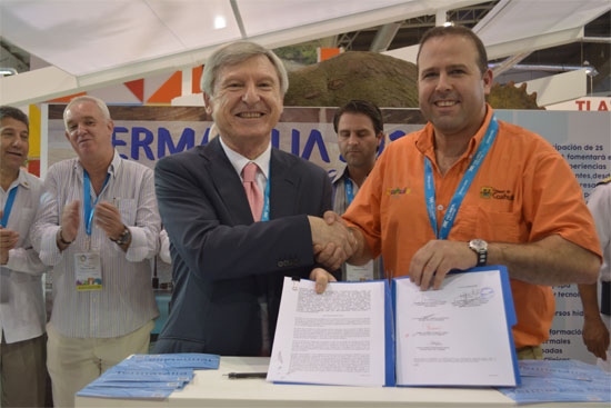 Firma convenio Termatalia México 2016