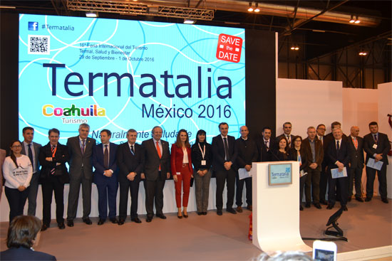 Termatalia Mexico 2016 ha sido presentada a los profesionales del sector en FITUR