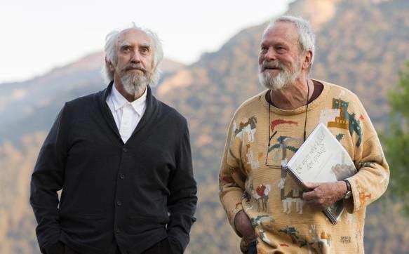 Terry Gilliam en el rodaje