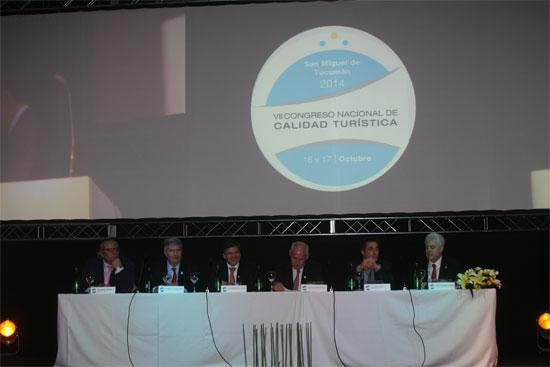 Inauguración del VII Congreso Nacional de Calidad Turística en Argentina