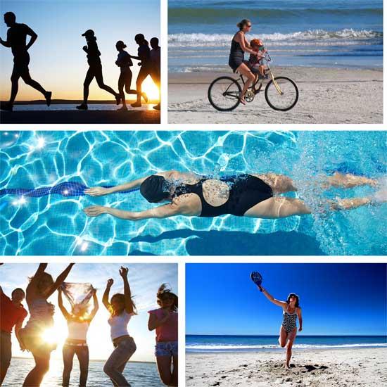 5 propuestas para no perder la forma este verano
