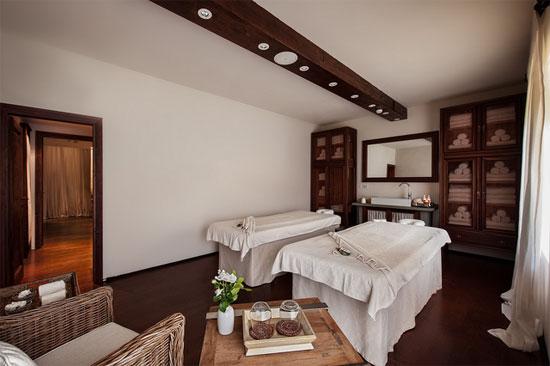 Spa del lujoso Hotel Il Salviatino de Florencia