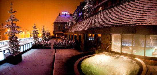 El Hotel Val de Neu en Baqueira Beret