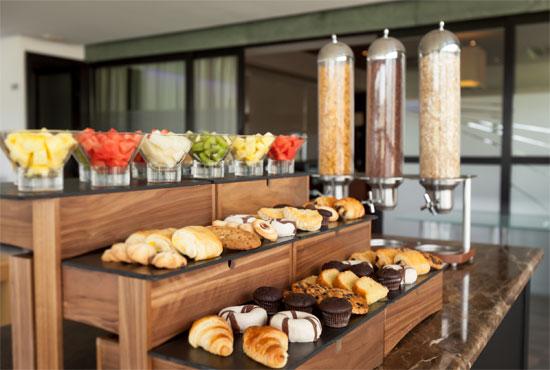 Desayunos en el Hotel Barceló Aranjuez
