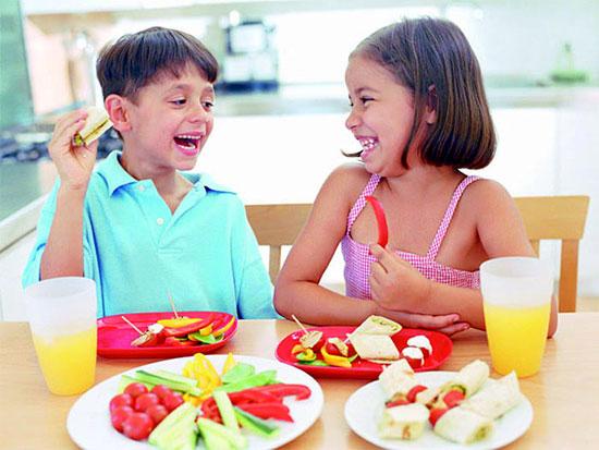 Frutas y Hortalizas para niños