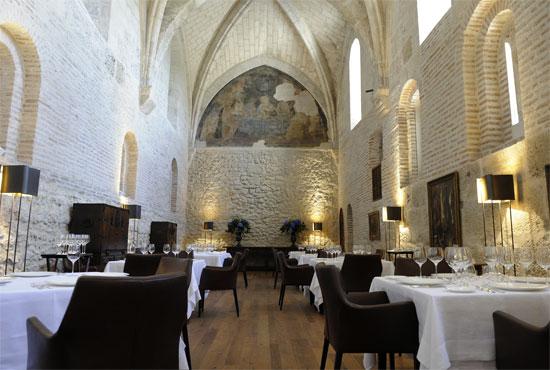 El restaurante Refectorio del hotel Abadía Retuerta
