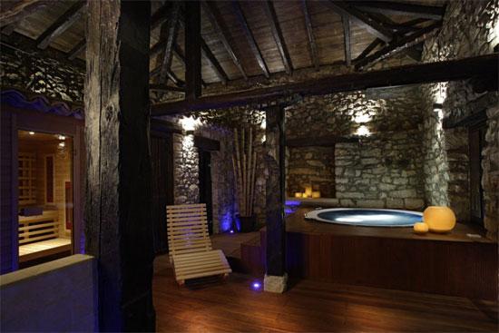 Noche de reyes en un loft rural de lujo con spa privado en for Hotel rural lujo madrid