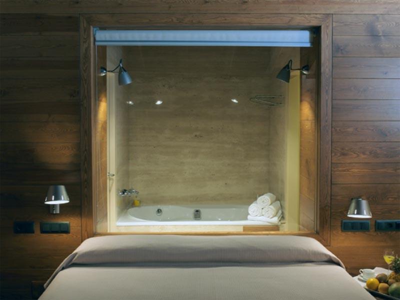 Habitacion con bañera de hidromasaje