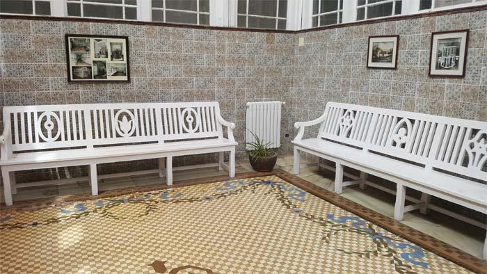 Sala de espera del Balneario