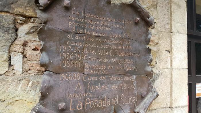Placa Historia Hotel Termas