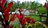 Jardín y Piscina Hotel Termas Balneario de Lierganes