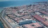 Vista de pajaro Hotel Lodomar