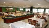 Buffet dietetico Hotel Hipocrates Curhotel