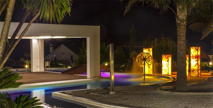 Caribbean Chill Spa nocturna