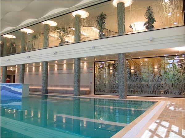 Detalle de una de las piscinas