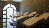 Una de las salas de barros Balneario Paracuellos de Jiloca