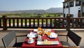 Terraza Hotel Real Golf & Spa Badaguás Jaca