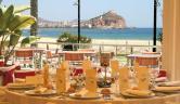 Vista a la terraza desde Restaurante Hotel Puerto Juan Montiel